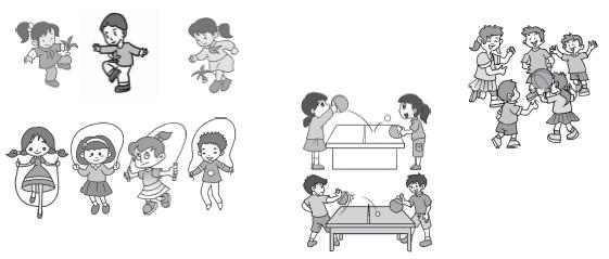 (2) 涂一涂。i0Z試題試卷網 i0Z試題試卷網 (3) 如果分成兩組,可以怎樣分,把分組的結果表示出來。i0Z試題試卷網 i0Z試題試卷網 2. 有趣的圖形。((2)題6分,其余每題4分,共14分)i0Z試題試卷網 i0Z試題試卷網 (1) 按形狀分一分,填寫下表。i0Z試題試卷網 i0Z試題試卷網 (2) 如果分成三組,可以怎樣分?